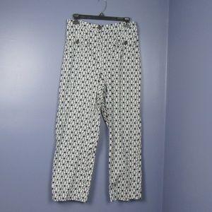 Talbots Black & White pants  12P   A97